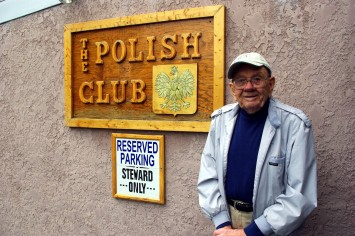 I told you my grandfather was a rock star. He even had a reserved parking space at the Polish Club.