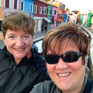 Selfies are just as silly in Italy as they are in North Carolina. This one was on the beautiful fishing island of Burano.