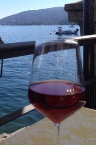 My optional solo excursion in Lake Maggiore.