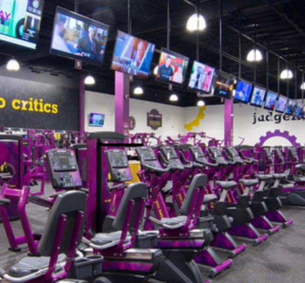 gym tvs